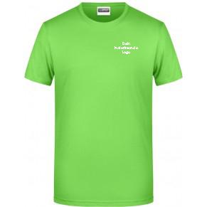 James & Nicholson Shirt Damen Lime Grün | L | mit Logo